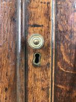 19th Century Antique Oak Glazed Corner Cupboard (7 of 10)