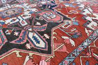 Fine Antique Heriz Room-size Carpet 389x283cm (10 of 11)