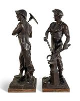 Pair of Spelter Figures (4 of 4)