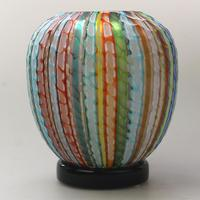 Museum Quality Very Fine Gino Cenedese Murano Vetri Textured Vase - Mid 20th Century (2 of 11)