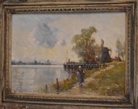 Oil Painting by Alfred Sanderson Edward RBA (4 of 9)