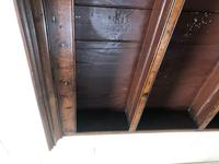 Small Antique Oak Farmhouse Country or Cottage Dresser (11 of 12)