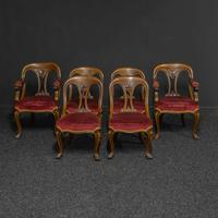 Set of Six Victorian Mahogany Chairs (8 of 13)