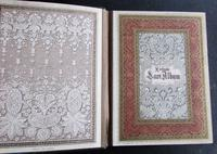 Rare 1900's Antique Lace Photograph Album, Numerous Lace Designs, Bound in Leather Binding