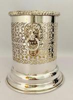 Edwardian Silver Plated Syphon Bottle Stand (2 of 7)