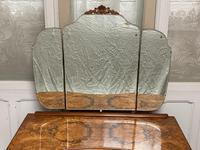 Stylish Burr Walnut Queen Anne Dressing Table (2 of 14)
