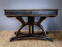 19th Century Art & Crafts Library Table (5 of 12)