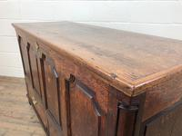 18th Century Welsh Oak Coffer with Panel Front (18 of 19)