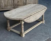 Bleached Oak Drop Flap Coffee Table (2 of 17)
