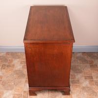 Mahogany Kneehole Desk With Brushing Slide (5 of 17)