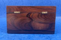 William IV Rosewood Twin Section Tea Caddy with Mother of Pearl Inlay (10 of 14)
