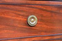 Superb Quality Regency Mahogany Bow Fronted Chest of Drawers (13 of 14)