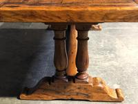 Wonderful French Chestnut Farmhouse Refectory Dining Table (37 of 37)