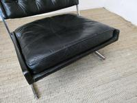 1960s Chrome & Leather Chair (10 of 12)