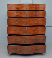 George III Mahogany Serpentine Tallboy / Chest on Chest (6 of 15)