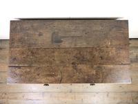 Georgian Oak Single Drawer Side Table (5 of 10)