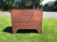 George III Small Mahogany Bow Front Chest of Drawers (11 of 11)