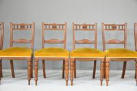 6 Victorian Walnut Dining Chairs (2 of 10)