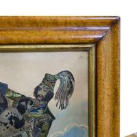Pair of Victorian Theatrical Tinsel Prints (10 of 12)