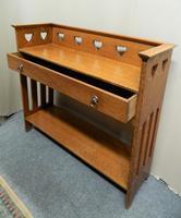 Arts & Crafts Oak Table -  Liberty & Co (6 of 8)