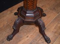 Antique Dutch Marquetry Vanity Hat Stand - Mirror (10 of 19)