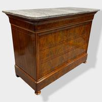 Exceptional Quality Inlaid Marble Top Commode (2 of 12)