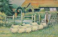 19th Century English Naïve School Watercolour (7 of 9)