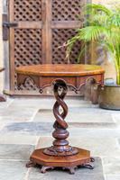 Victorian Oak Octagonal Table (5 of 15)