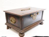17th Century Portugese Casket Box - Walnut Jewellery Case (11 of 11)