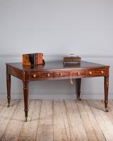 Important Early 19th Century Mahogany Library Table (2 of 8)