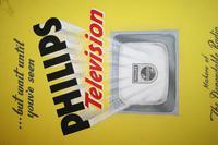Philips TV - Original Advertising Artwork c.1950 (3 of 11)