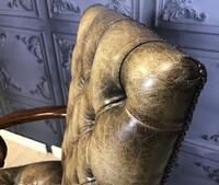 Georgian Style Mahogany Desk Chair c.1920 (12 of 15)