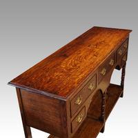 Antique Oak Small Dresser Base (8 of 11)