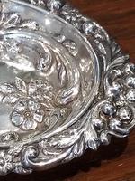 Victorian Silver Pin Dish - Birmingham 1897 (4 of 4)