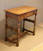 Light Oak Hall Table (9 of 11)