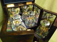 Rare Fine Quality Coromandel Jewellery – Perfumery Box c.1872 (6 of 14)