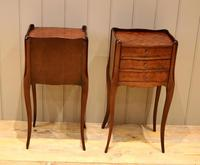 Pair of Mahogany Inlaid Bedside Cabinets (10 of 10)