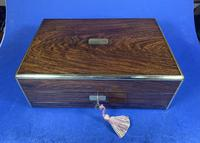 Victorian Rosewood Gentlemen's Vaniety Box (12 of 13)
