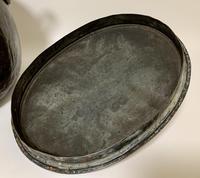 Large Antique Copper Cauldron with Lid (5 of 16)