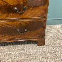 Quality Edwardian Flamed Mahogany Antique Chest of Drawers (2 of 5)