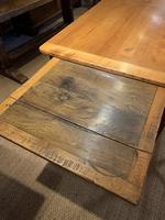 Farmhouse table cherry wood 71 inches long (2 of 11)