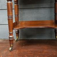 Beautiful 19th Century Campaign Writing Desk (3 of 8)
