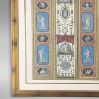Set of Four Studies of Raphael Frescoes (6 of 6)
