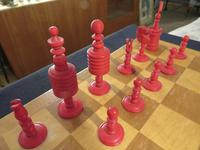 1850 Chess Set Barley Corn English Complete (5 of 5)