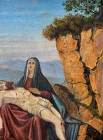 Pair of 19th Century Religious Old Master Oil Paintings - Set of 14 Available (30 of 32)