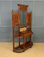 Large Victorian Walnut Hall Stand by James Shoolbred and Co. (2 of 17)