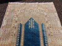 Antique turkish panderma prayer rug (3 of 6)