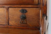 19th Century Solid Oak Bookcase (4 of 11)
