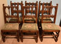 17th Century Gothic style Country Dining Chairs
