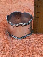 Antique Sterling Silver Hallmarked Napkin Ring 1919 Constantine & Floyd Ltd Birmingham (3 of 7)